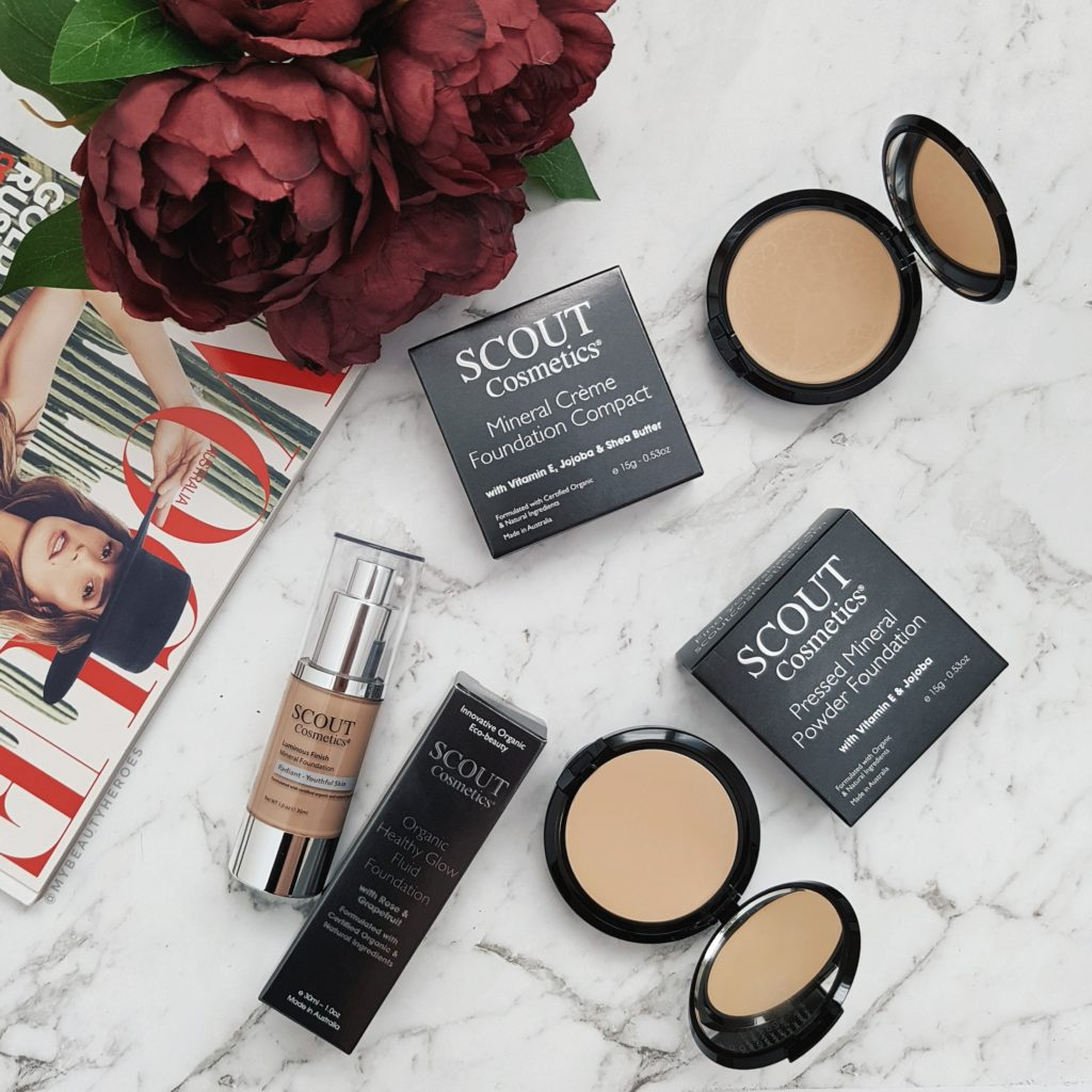 Scout Cosmetics Foundation Review Powder Fluid Creme My Beauty